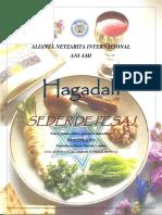 Seder de Pesaj - AniAmi - 5776