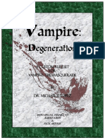 Vampire Degeneration Rulebook