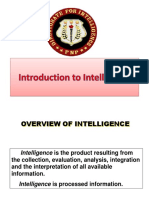 1. Introduction to Intelligence (1)