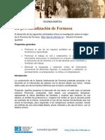 Secuencia Didactica Provincialización de Formosa