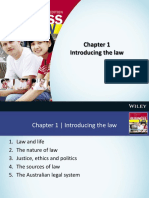 1 Introducing Law