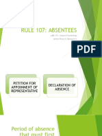 RULE 107 - ABSENTEES (Monteclaro).pptx