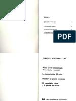 Enrique Buenaventura, Notas Sobre Dramaturgia