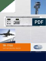 Brochure TR 7750.PDF - Jotron