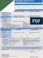 Formulir Pemesanan Tiket