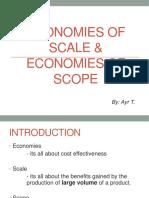 Economies of Scale & Scope