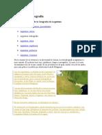 Hidrografia Argentina