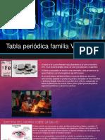Tabla Periódica Familia VIII B