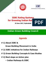 IGBCRatingSystemsforIndianRailways_29June2017