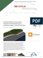 NeoTech ROOF, La Innovadora Solución Termodrenante Para Cubiertas Verdes y Techos Invertidos _ Arquimaster
