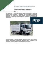Informe de Maquinaria y Equipos