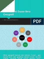 Media Pembelajaran geografi dasar