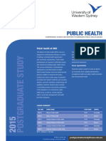 STR3357 Postgraduate 2015 Brochure Public Health 06