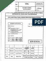 SLS-70-CIV-DB-001 Civil Design Basis, Rev C - App w Comment