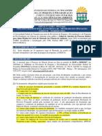 Edital 11-2017 PPGCiamb Abertura Processo Seletivo Aluno Regular Mestrado 2018