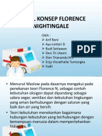 Model Konsep Florence Nightingale