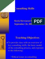 Keahlian Konsultan (Consulting Skills)