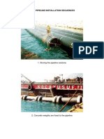 HDPE Pipeline Installation Sequences