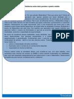 Atividades Interdisciplinares Sobre Distãncia Entre Dois Pontos-5º Período