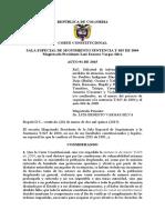 Auto 091 Del 26 de Marzo de 2015 Solicitud de Informacion - Indigenas