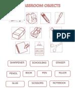 Classroom Objects 2 Do