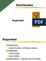Seguridad Sistemas Distribuidos