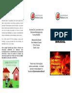 Queimadas No Brasil Folder 1