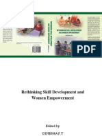Rethinking Skill and Women Empowerment by Dinesha P T