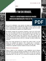 Criando Riqueza apresenta... O FIM DO BRASIL PARTE 15 - REVISITANDO O RISCO DE APAGÃO (NOVAS RECOMENDAÇÕES PARA SE PROTEGER)