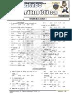 Aritmetica - 2do Año - II Bimestre - 2014