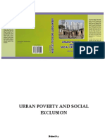 Urban Poverty Social Exclusion by Dinesha P T