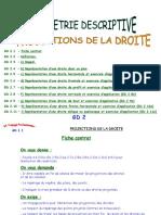 Projections de La Droite Eleve Ok 11-01-04
