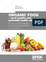 Organic Food Quality and Health Webb