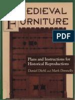 Medieval Furniture Derevyannoe Kruzhevo