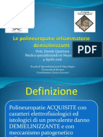 Neuropatie Infiammatorie Demielinizzanti- Davide Quartana 2016.Pptx