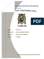 Informe Cables