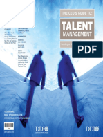 [Oustanding] DDI CEO Guide to Talent Mangement1