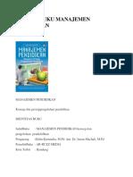 Resensi Buku Manajemen Pendidikan