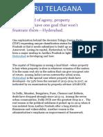Bangaru Telagana | APR Infra Project Hyderabad