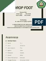 Lapsus Drop Foot