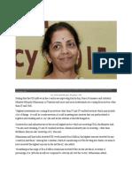 FDI News 16th Feb 2016-Nirmala Sitharaman
