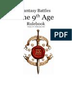 Fb t9a Rules 1 2 2 English