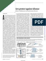 Intestinal barrers protect against disease