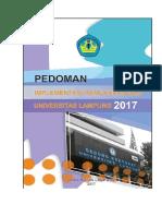 Pedoman Remunerasi UNILA 2017