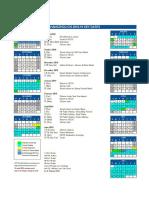 Hzcis Calendar 2018-19 (Final)