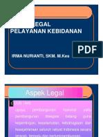 3. Aspek Legal Pelayanan Kebidanan