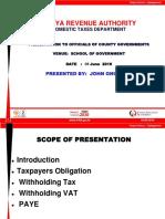 KRA Presentation