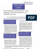 Familiograma y Apgar Familiar