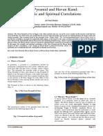 Giza Pyramid and Havan Kund