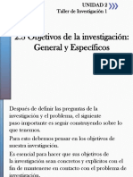 2.3.- Objetivos de La Investigacion
